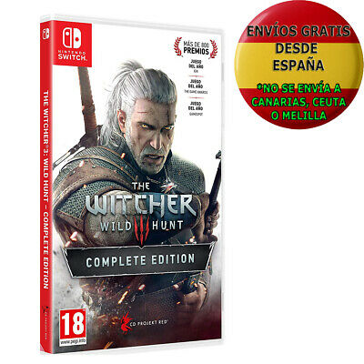 The Witcher 3: Wild Hunt - Complete Edition Switch PAL ESPAÑA ESPAÑOL NUEVO
