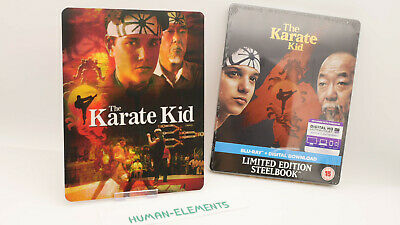 The Karate Kid 1984 Limited Edition Steelbook Blu-Ray + 3D LENTICULAR MAGNET