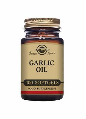 Solgar Garlic Oil Softgels - Pack of 100