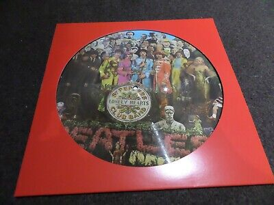 12 Inch Vinyl Album - The Beatles - Sgt Peppers Lonely Hearts Club - Picture Dis