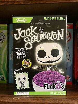 Funko Pocket Pop Cereal Jack Skellington NBC Hot Topic Excl. *IN HAND*