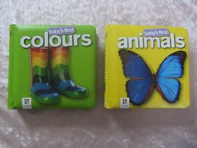 Baby's First Colours and Animals books by Hinkler Books PTY Ltd (Board book 2008