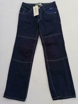 KENZO Boy's/Girls Straight Leg Cotton Jeans Indigo Age 10yrs 140cm