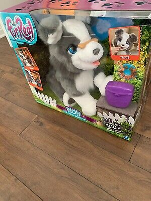 FurReal Friends Ricky, the Trick-Lovin' Interactive Plush Pet Toy, 100+ Sound