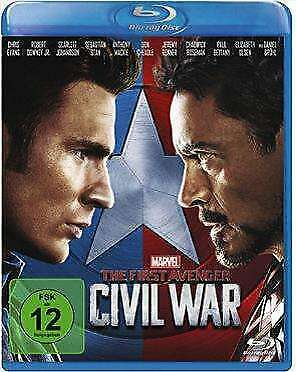 NEU Blu-ray - The First Avenger: Civil War (Blu-ray) #G57281105