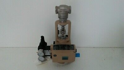 New Old Stock! Samson Pneumatic Extendable Actuator 3277 W/ 3730-3 Positioner