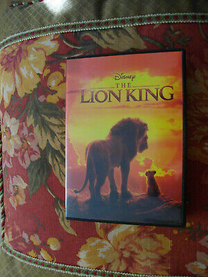 The Lion King Dvd 2019-Like New-Ships 10/22-Read Description