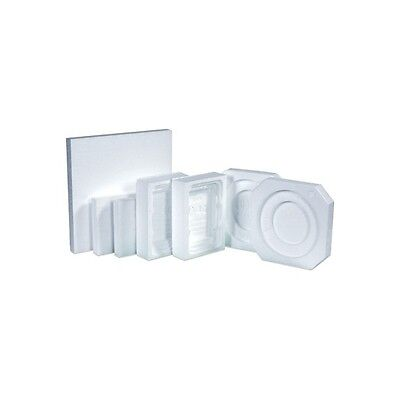 F-Style Can Foam Insert, 1 Gallon, White, 160/Case
