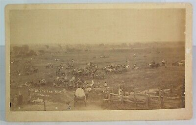 1880s NATIVE AMERICAN CHEYENNE INDIAN CABINET CARD PHOTO CANTONMENT OKLAHOMA #2