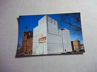 Vintage WALTER'S BEER PICTURE POSTCARD Eau Claire Wisconsin Wi Bar Tavern Saloon