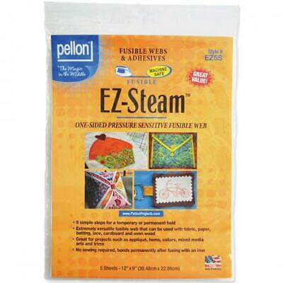 "Pellon EZ-Steam-12""X9"" 5/Pkg, EZ5S"