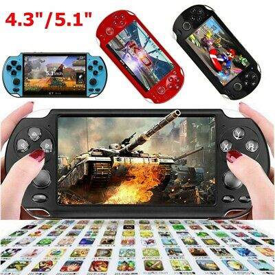 8GB 4.3'' 5.1'' Handheld Game Console Player Built-in Game Portable Consoles