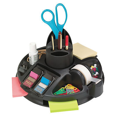 Post-it Rotary Self-Stick Notes Dispenser, Plastic, Rotary, 10 In. diameter x 6