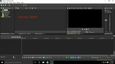 Magix Sony Vegas Pro 16⭐ 64 Bit Version For Windows⭐ ⭐Video Editing Software⭐