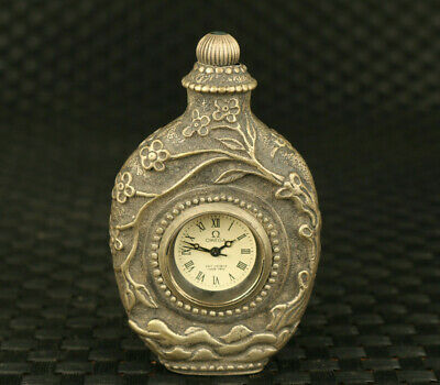 Old copper inlay royal cloisonne Mechanical Movement pocket watch