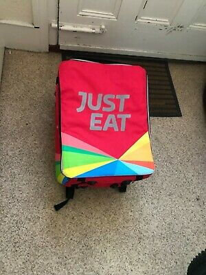 Just Eat delivery insulated box bag