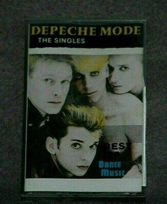Depeche Mode - The Singles - Cassette Tape - Import