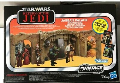 Hasbro Star Wars Return of the Jedi 3.75 in  Jabba's Palace Play Set & Free gift