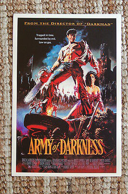 Army of Darkness Lobby Card Movie Poster