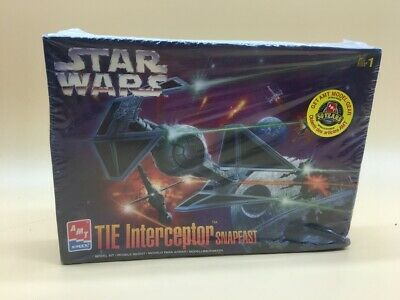 Star Wars The Interceptor Snapfast Amt  New Boxed En Caja Model Kit