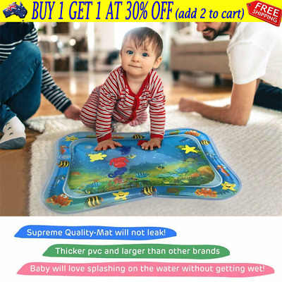 Baby Tummy Sea World Inflatable For Time UE Water Play Mat Toddlers Infants YCJ