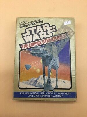 Star Wars The Empire Strikes Back Intellivision Videogame Complete  In Box !