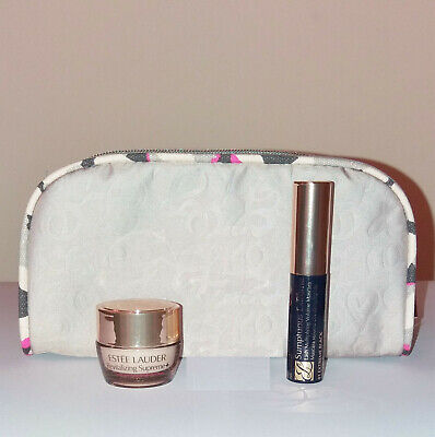 Estee Lauder Revitalizing Supreme + Lot 4 Face Cream, Eye Balm, Mascara, Bag New