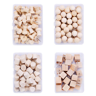 Home Push Pin With Organizing Container Craft Drawing Wooden Thumbtack Nail