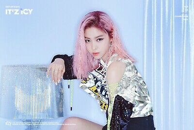 K-POP ITZY Album - [IT'z ICY] RYUJIN Ver OFFICIAL FOLDED POSTER -NEW-