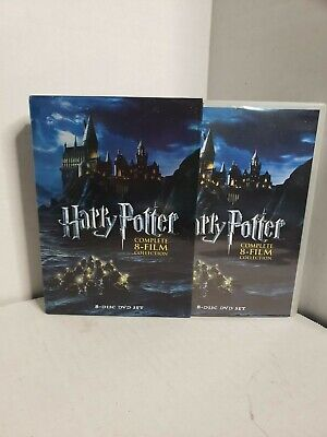 A4=Harry Potter: The Complete 8-Film Collection- Mint Condition!!!
