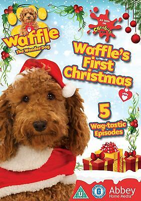 Waffle The Wonder Dog - Waffle's First Christmas New DVD / Free Delivery