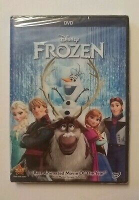 Frozen (DVD, 2014) Brand - New Sealed - Disney - Bonus Extras - Free Shipping
