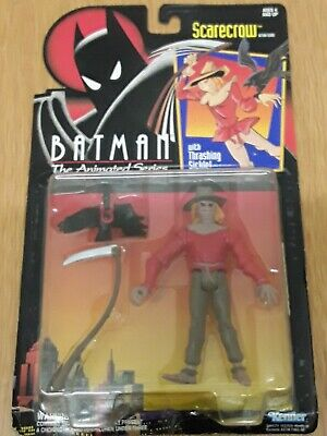 BATMAN THE ANIMATED SERIES TK THE MAD HATTER CARDED ACTION FIGURE BY KENNER