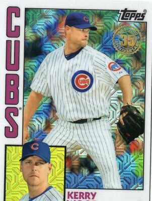 "Kerry Wood, Chicago Cubs, 2019 Topps Update ""Silver Pack Refr"""