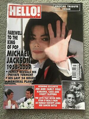 Hello Magazine Number 1079, July 6, 2009, Special Tribute Issue Michael Jackson