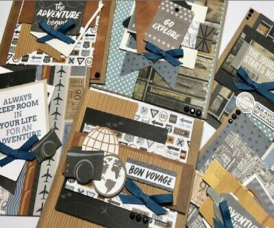 Uniquely Creative JUST LANDED CARD MAKING KIT New Free Postage