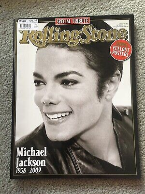 Rollingstone Magazine 2009 Michael Jackson 1958 To 2009 Special Tribute Issue
