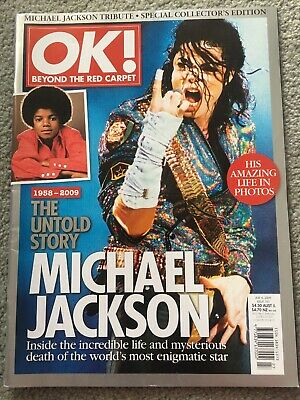 OK Magazine July 6 2009 Issue 161, Michael Jackson Tribute, The Untold Story