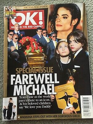 OK Magazine July 20th 2009 Issue 163 Special Issue Farewell Michael