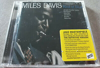 Miles Davis Kind Of Blue Cd Columbia Ck 64935 John Coltrane Bill Evans 1997
