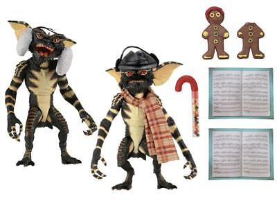 NECA Gremlins 2 Pack Christmas Carol Winter Scene 7 Inch Action Figure US SELLER