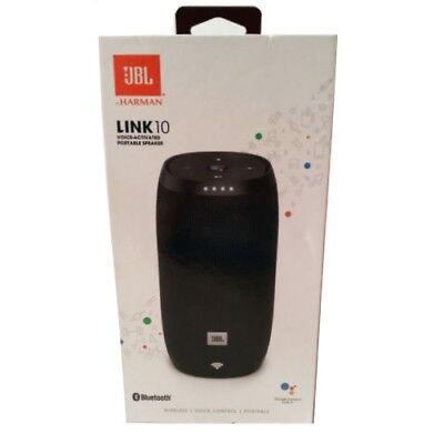 Brand New Jbl Link 10 Bluetooth Speaker | Jbllink10Blkus | Black