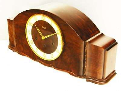 Art Deco Westminster Chiming Mantel Clock From  Kienzle Black Forest
