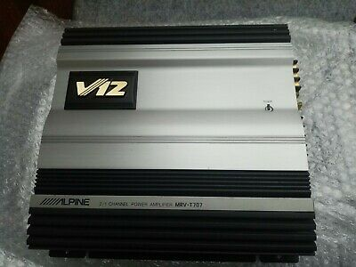 Alpine V12 MRV-T707 Two Channels Car Amplifier