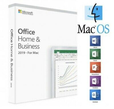 Microsoft Office 2019 Home & Business Activation Key For MacBook Air MacBook Pro