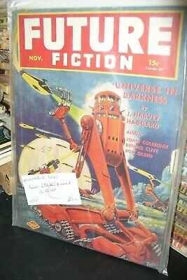 Future Fiction Us Edition November 1940 [ 1 Issues]
