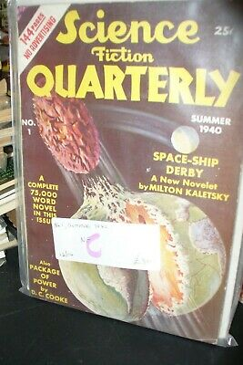 SCIENCE FICTION QUARTERLY US EDITION No.ONE SUMMER 1940 [ 1 ISSUES]