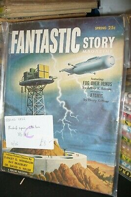 Fantastic Story Magazine Us Edition Spring 1955 [ 1 Issues]