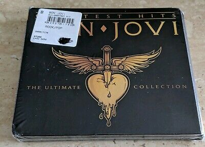 New Sealed Bon Jovi  Greatest Hits The Ultimate Collection 2 Cd Set + Free Ship