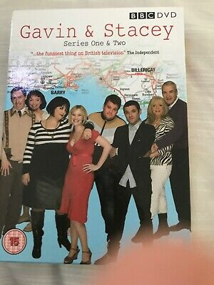 Gavin And Stacey - Series 1-2 (DVD, 2008, 3-Disc Set)